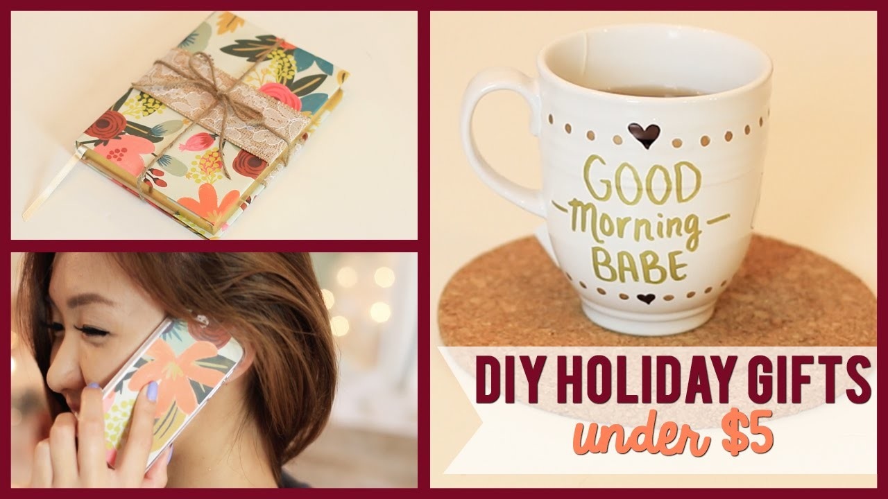 DIY Holiday Gifts (UNDER $5) #WinterWeylieLand | ilikeweylie
