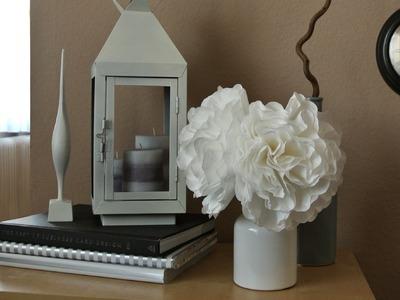 DIY Papier Blumen, Paper Flowers