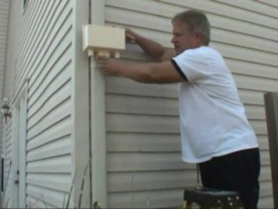 DIY Rain Water Harvesting System Barrel Diverter Gutter Set Up