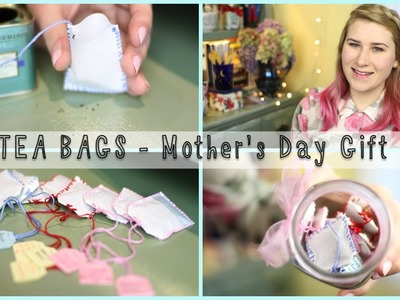 DIY TEA BAGS - Mother's Day Gift Idea | Mademoiselle Ruta