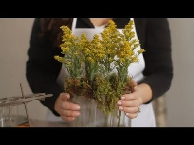 DIY Test Tube Vases : Flowers & Centerpieces
