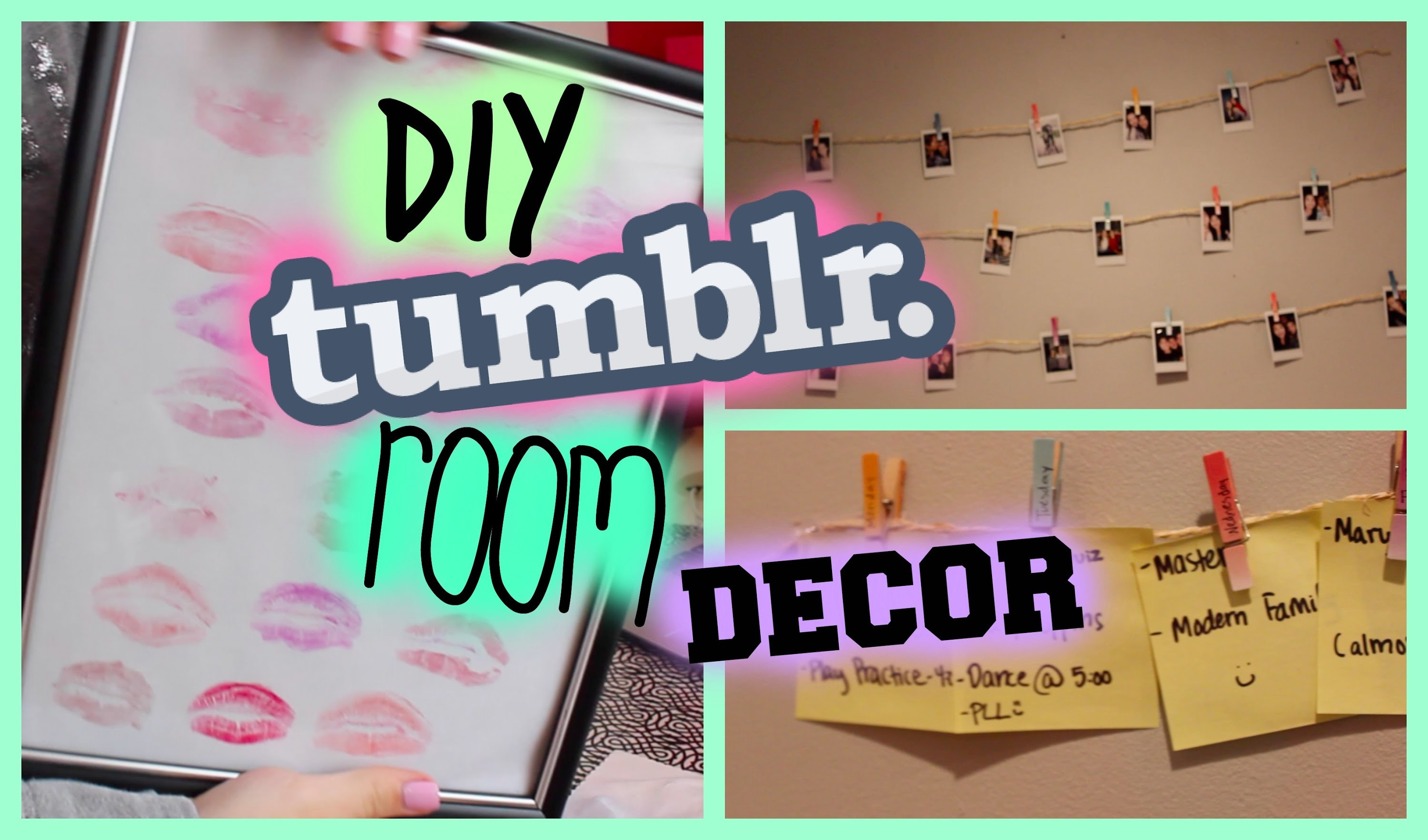 diy tumblr room decor my crafts and diy projects