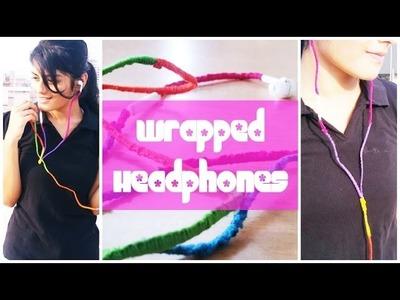 DIY: Wrapped Headphones