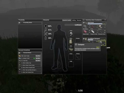 H1Z1 Crafting Guide: How To make the Compass+How to use it