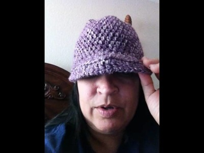 Hat With Brim Video Response to Crochet Geek