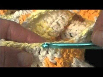 How to Crochet a girls Shrug Part 6