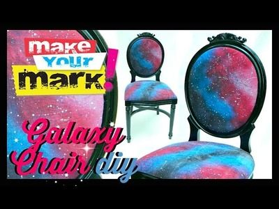 How to: Galaxy Chair and Fabric DIY