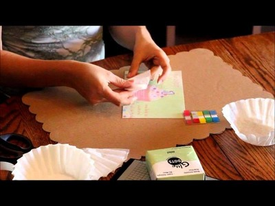 How to Make a 3D Cupcake Liner Invitation
