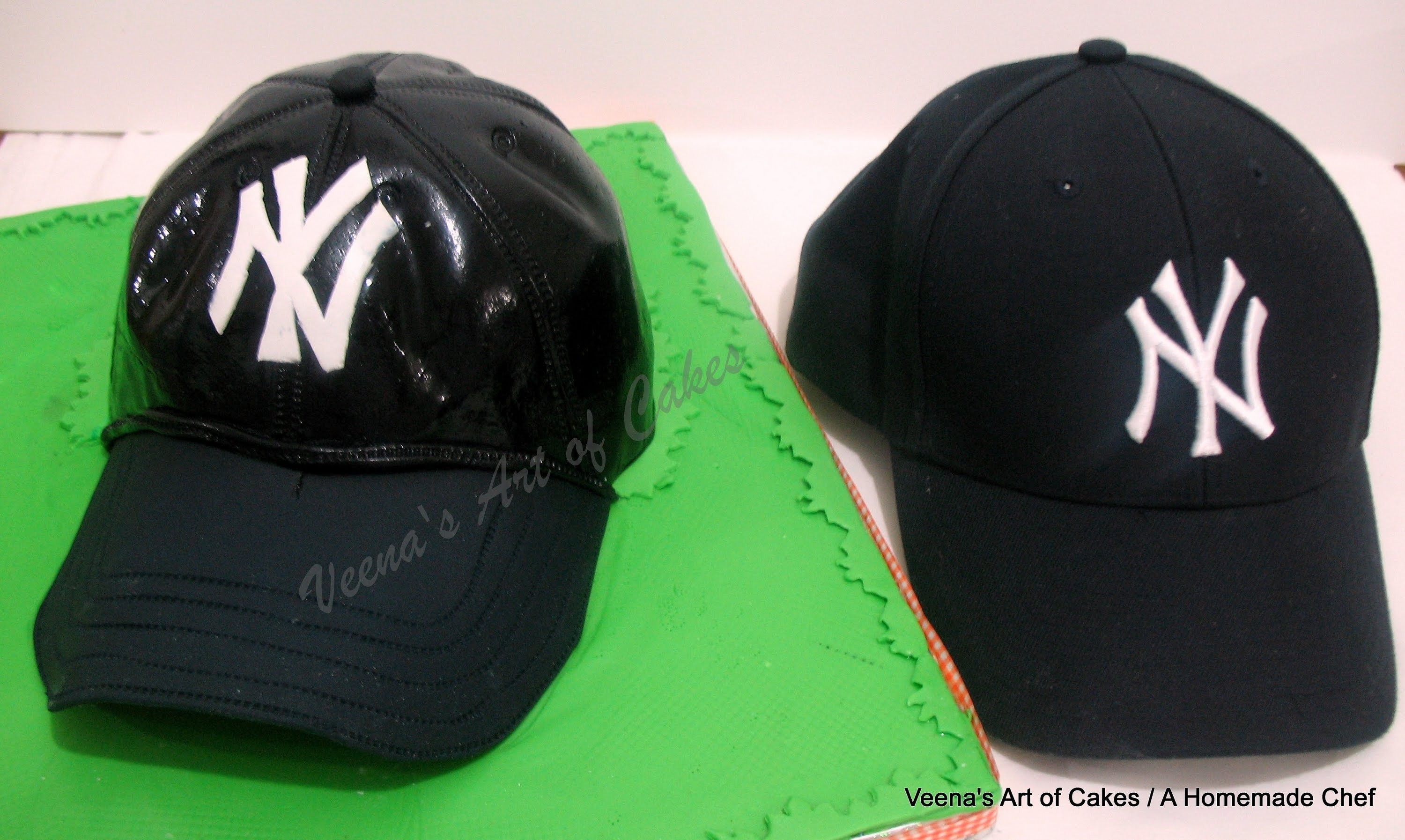 How to make a Baseball Cap Cake
