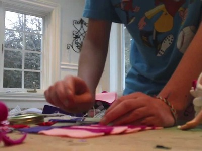 How to make a funky lalaloopsy dress and arm warmers part 2