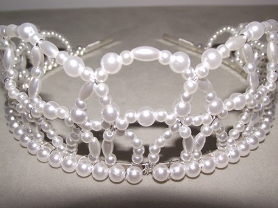 How to Make Beaded Tiaras & Crowns - Craft Tips #21