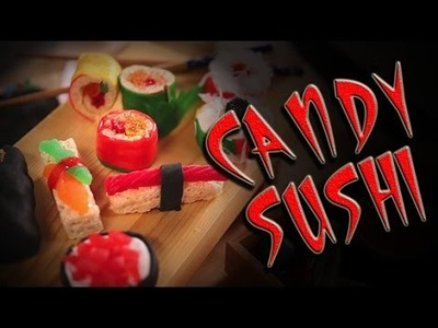 How to Make DIY Candy Sushi