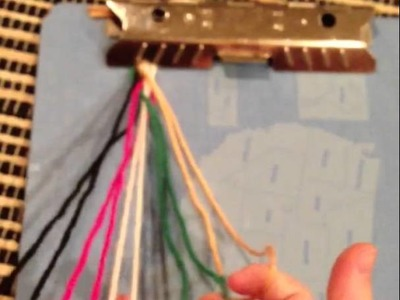 How to make the box braid friendship bracelet