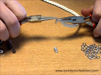 Jewelry making - DIY Project 1: How to decorate a braided bracelet with pendants