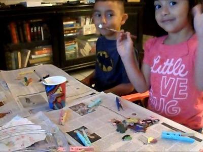Kids Fun Crafts Clothes Pins