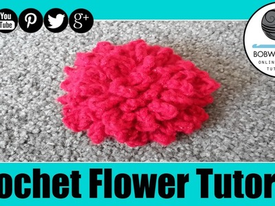 Mums Crochet Flower Tutorial