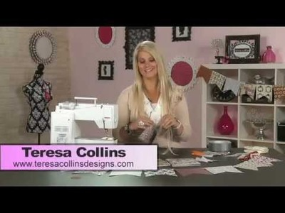 My Craft Channel: Teresa Collins Quick & Simple Banners