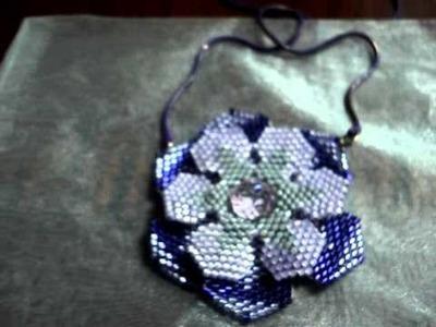 Ninfea peyote beadwork