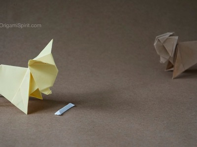 Origami Dog : : Perro Chihuahua