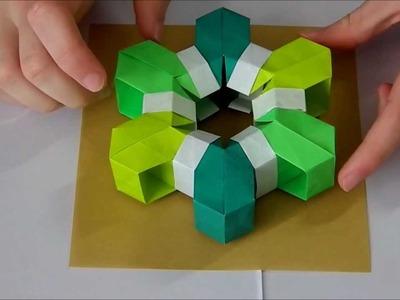 Origami Tutorial: Summer's Snowflake (Martin Sejer Andersen)