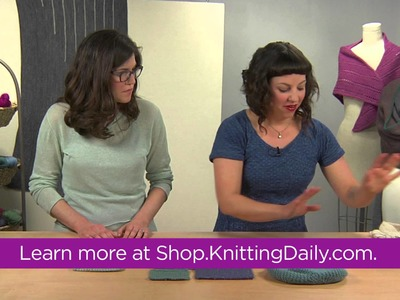 Preview Beyond Basic Garter Stitch with Courtney Kelley and Kate Gagnon Osborn