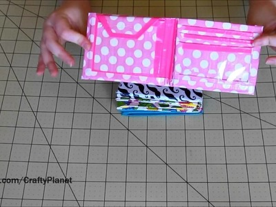 Six ★ NEW ★ Duct Tape Wallets - My Duct Tape Wallet Collection (Duct Tape Tutorial & Crafts)