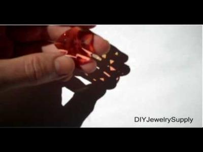 Swarovski Crystal 6871 28mm Faceted Heart Pendent