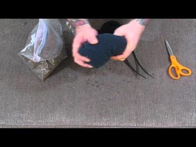 Tactical Arts&Crafts: Sniper Bean Bag (rear rifle rest)