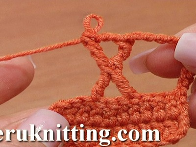 The X Crochet Stitch Tutorial 29 Treble Crochet Posts