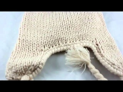 Toddler Baby Beanie Bear Hat Crochet Handmade Photography Prop Cap xm-5w Beige