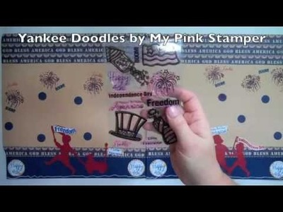 Yankee Doodles - 2 Page Scrapbook Layout