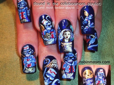 10 Nail Art Tutorials | DIY Nail Art Designs for Long Nails | The Wizard of Oz
