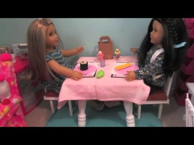 American Girl Doll Crafts We Made
