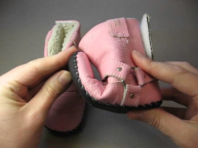 Baby Girl Warm Boots in Pink