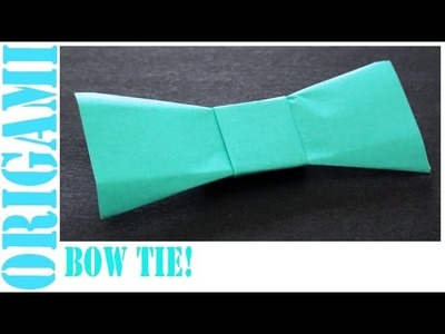 Bow Tie: Daily Origami - 470 [TCGames HD]