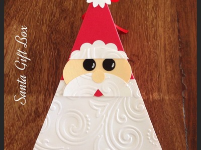 Christmas Project No. 2 ~ Santa Gift Box ~ Easy Craft