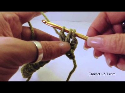 Crochet 1-2-3 Issue 5 3 Double Crochet Cluster