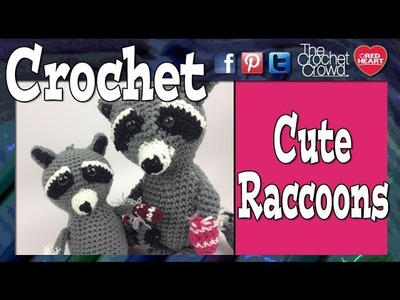 Crochet Christmas Raccoons Tutorial