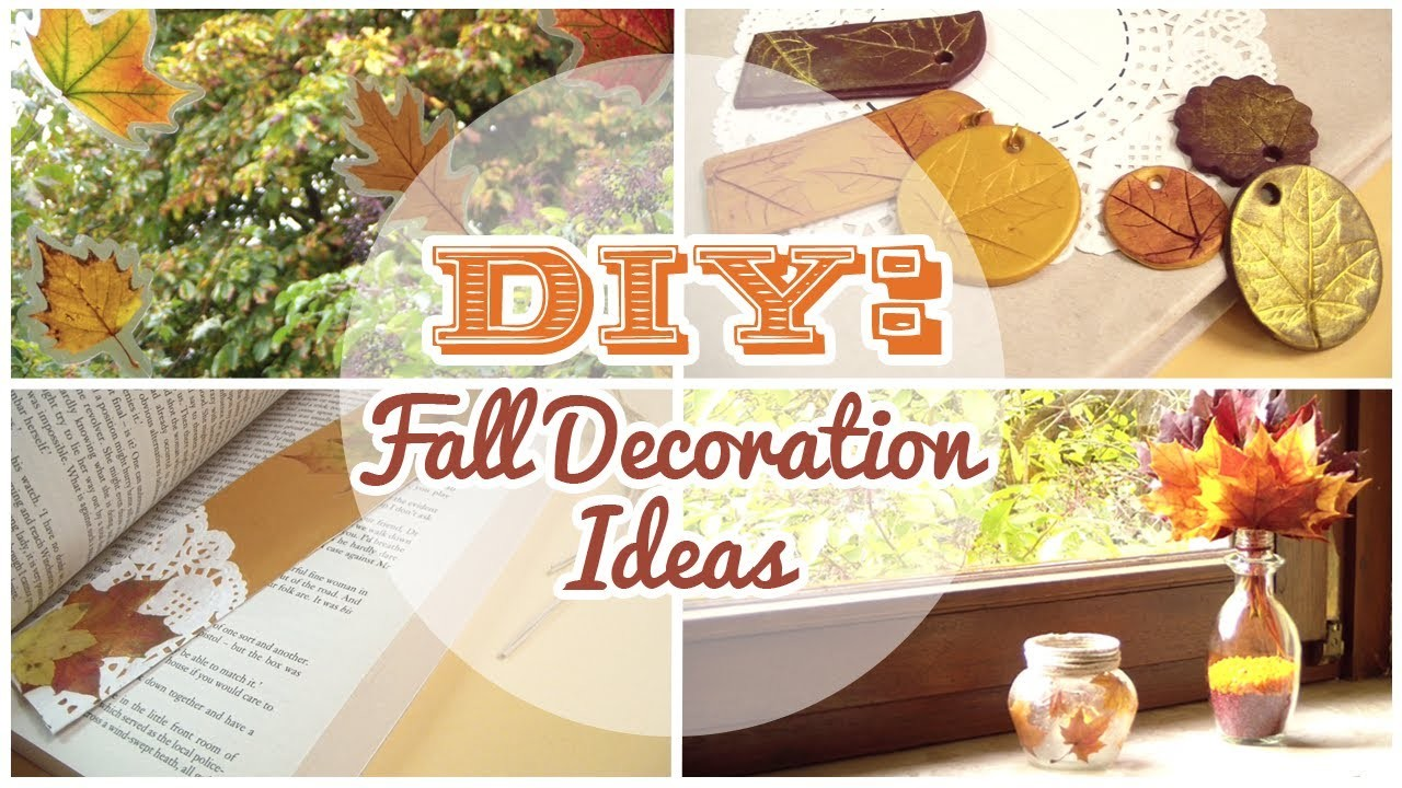 DIY: 4 Easy Fall Decorations