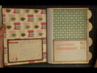 DIY Altering A Compostion Notebook to a Recipe Book Part Two