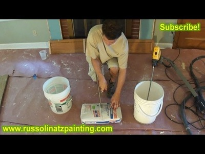DIY How To Mix Easy Sand 90 - Drywall Repair
