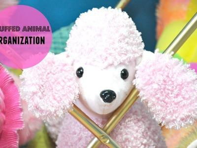 DIY Kids Toy Organization: Rotating Stuffed Animal Tower (Collab)