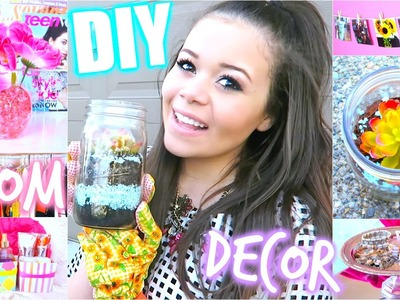 DIY Room Decorations for Cheap+How to stay Organized! | Krazyrayray