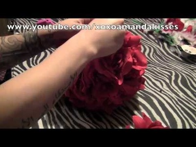 Diy rose ball under 5 dollars !