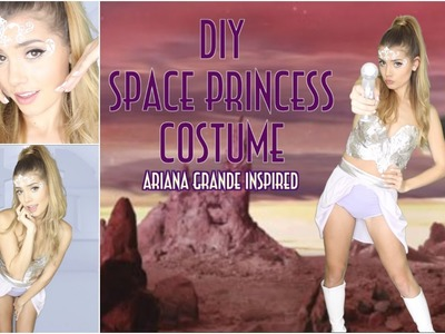 DIY Space Princess Halloween Costume | Ariana Grande- Break Free ft. Zedd