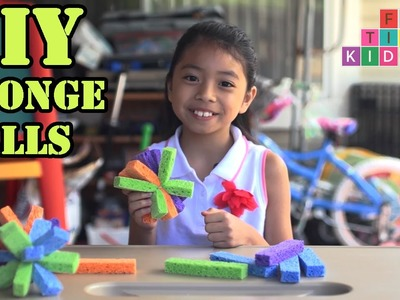 DIY Sponge Balls   Full-Time Kid   PBS Parents