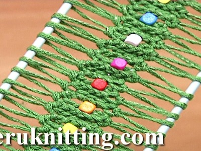 Hairpin Lace Crochet With Beads Tutorial 25 Easy to Make Hairpin Strip