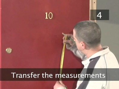 How To Fit A Door Knocker
