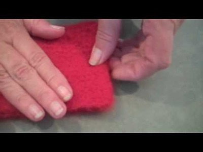 How to Knit: Felting