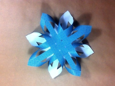 How to Make a 3D Finnish Paper Star for Xmas (DIY Tutorial)